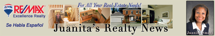 Monthly Real Estate News from Juanita