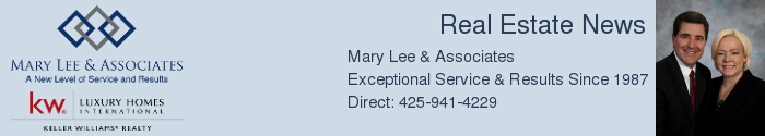 Mary & Jeff's Real Estate News